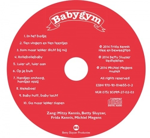label CD Babygym